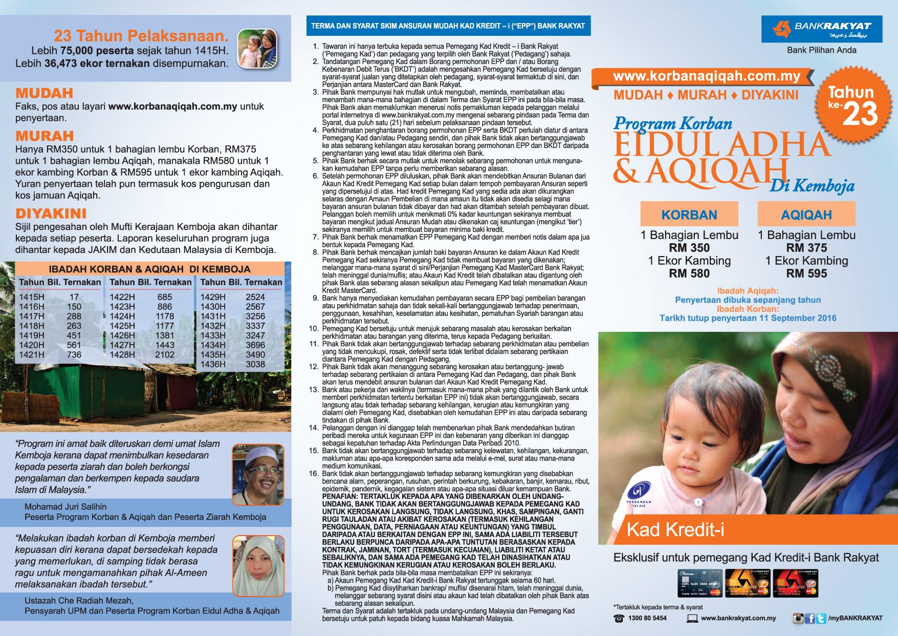 Program Korban di Kemboja